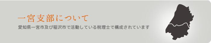 一宮支部について 愛知県一宮市及び稲沢市で活動している税理士で構成されています